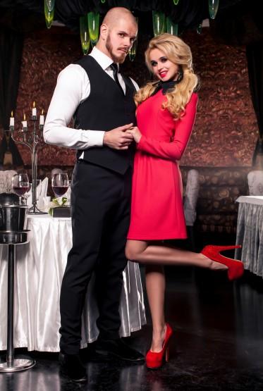 Платье Romantic красный