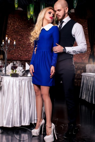 Платье Romantic электрик