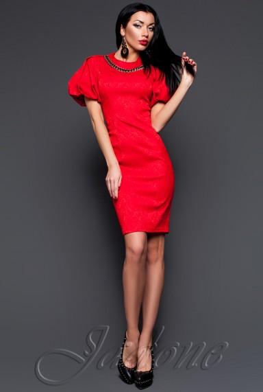 Платье Келли красный