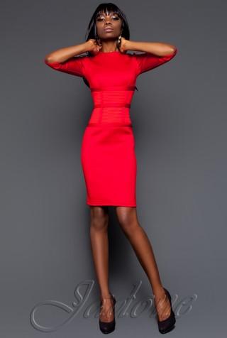 Платье Грейс красный