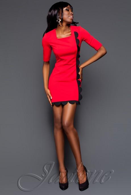 Платье Соренто коралловый