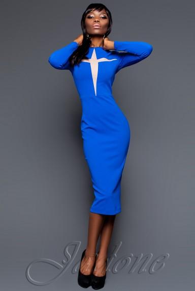 Платье Миранда 2016 электрик