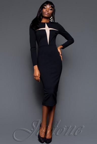 Платье Миранда 2016 черный