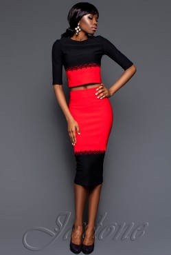 Платье Silin red