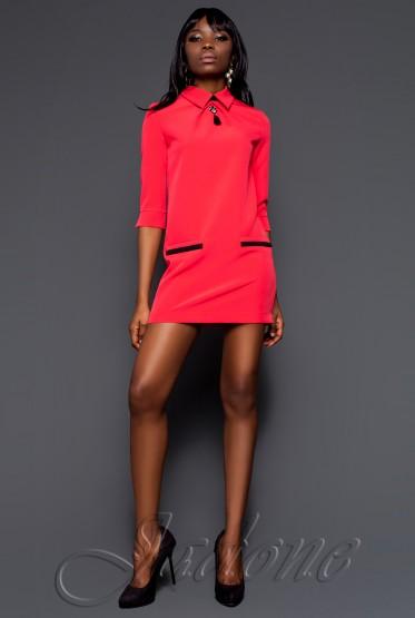 Платье-туника Лорен коралловый