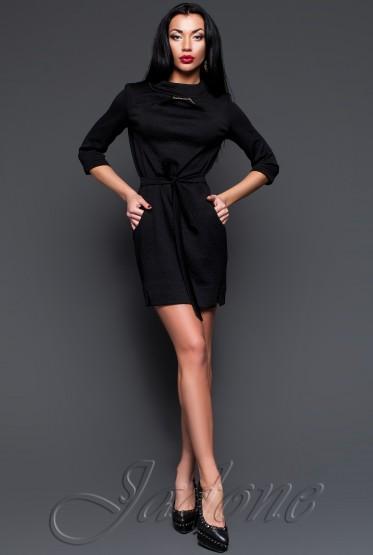 Платье-туника Ингрид черный