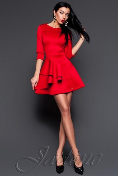 Платье Бруни красный