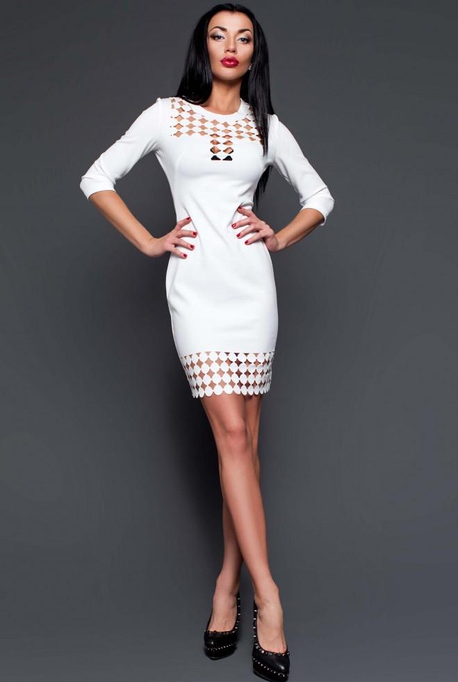 Платье-туника Анит молочный