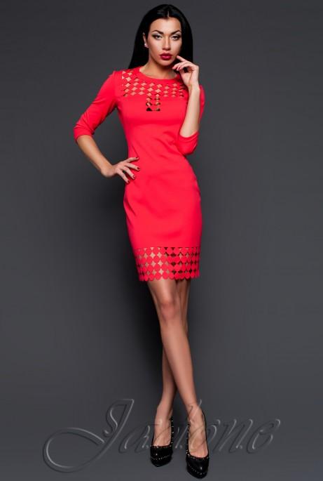 Платье-туника Анит коралловый