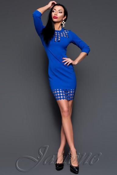 Платье-туника Анит электрик