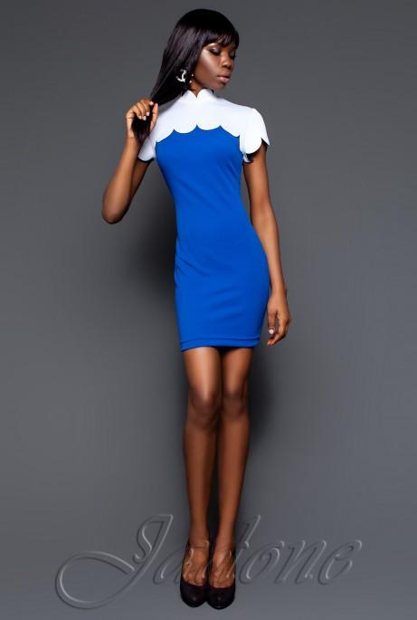 Платье Бенедикт электрик