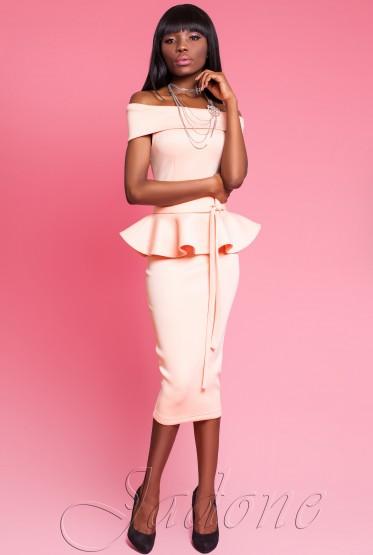 Платье Монсеррат peach