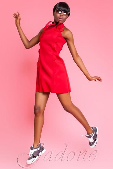 Платье Anna красный