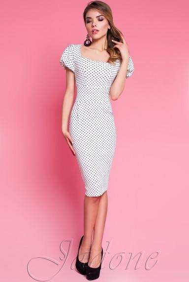 Платье Kim молочный