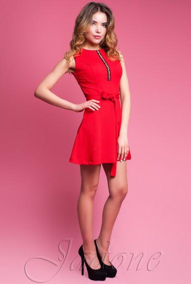 Платье Вермут красный