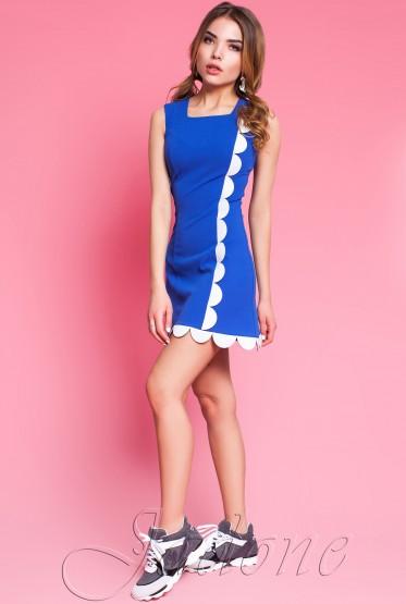 Платье Викки комбинированный