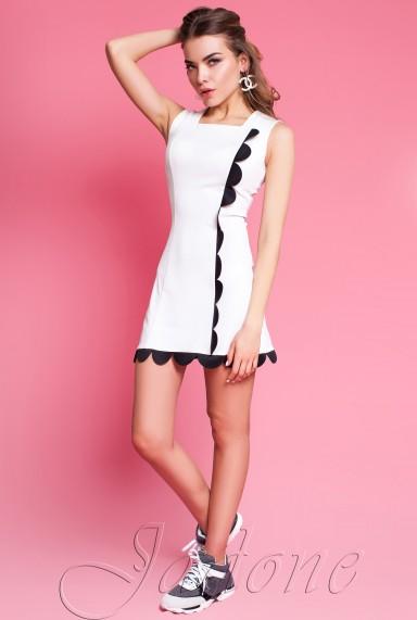 Платье Викки молочный