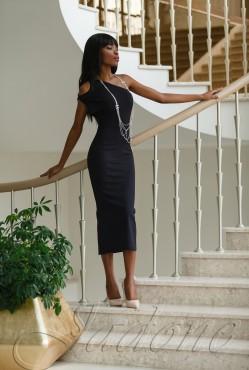 Платье Делли black