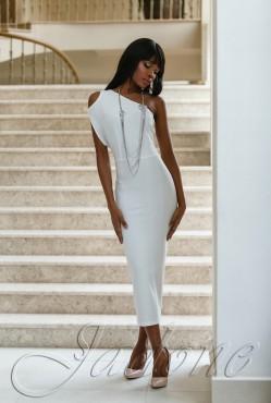Платье Делли white