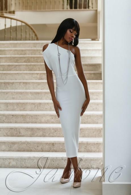 Платье Делли белый