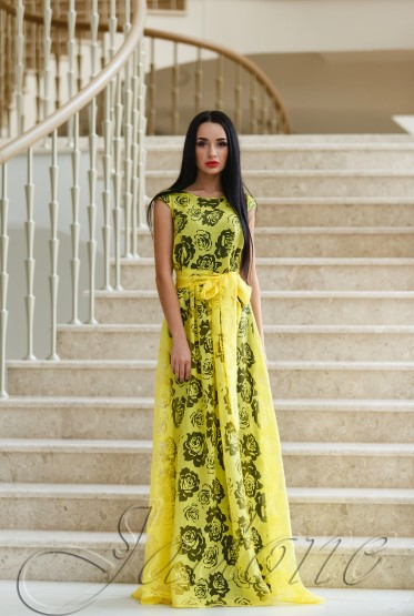 Платье Борисфен yellow
