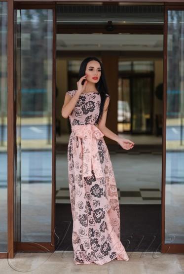 Платье Борисфен персиковый