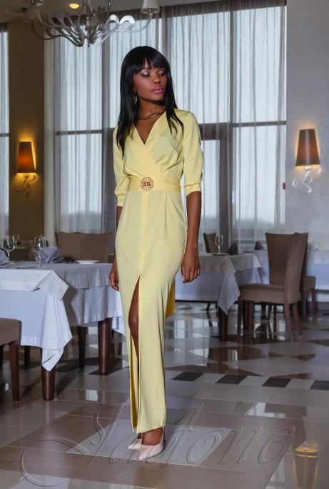 Платье Юлианна жёлтый