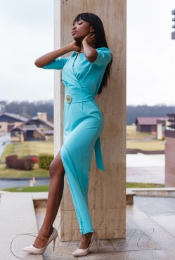 Платье Юлианна turquoise