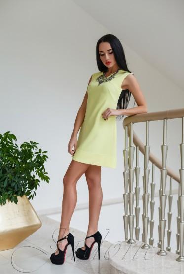 Платье Лорентино жёлтый