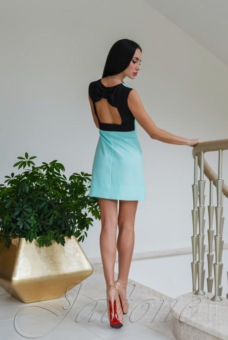 Платье Лорентино бирюзовый