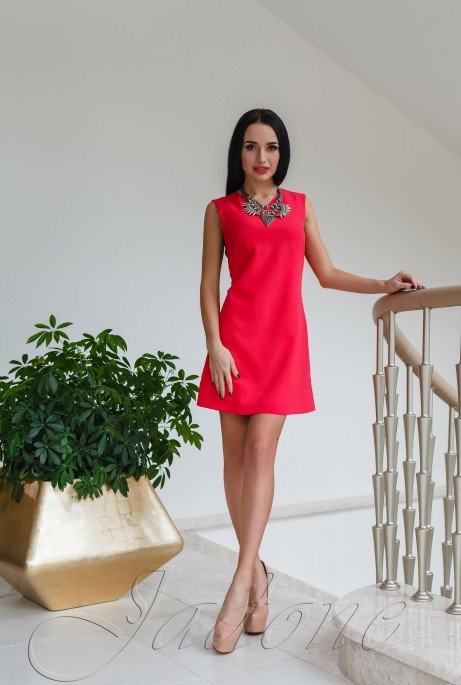 Платье Лорентино красный