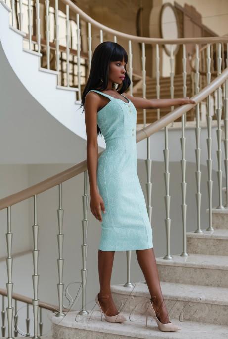 Платье Марикей бирюзовый