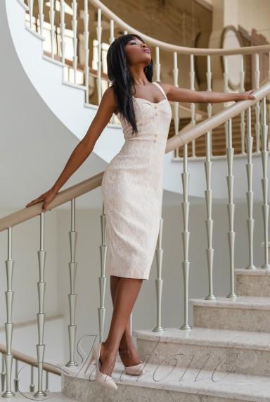 Платье Марикей бежевый