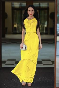 Платье Камилла yellow