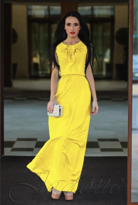 Платье Камилла жёлтый