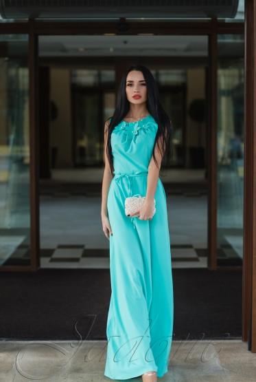 Платье Камилла turquoise