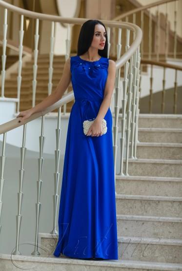 Платье Камилла электрик
