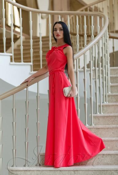 Платье Камилла коралловый