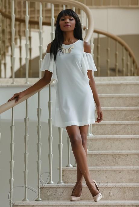 Платье Каролина молочный