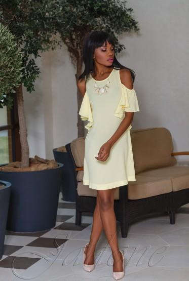 Платье Каролина жёлтый