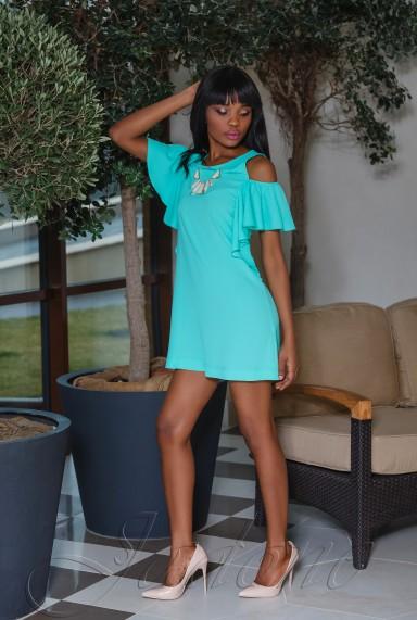 Платье Каролина бирюзовый