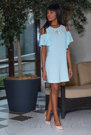 Платье Каролина голубой