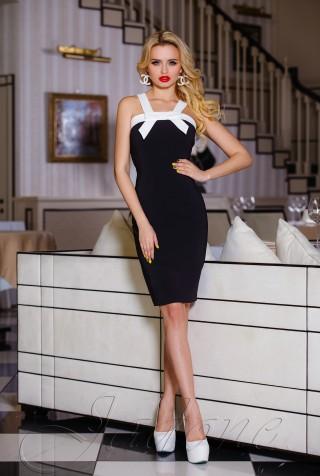 Платье Нори черный