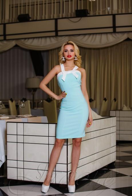 Платье Нори ментол
