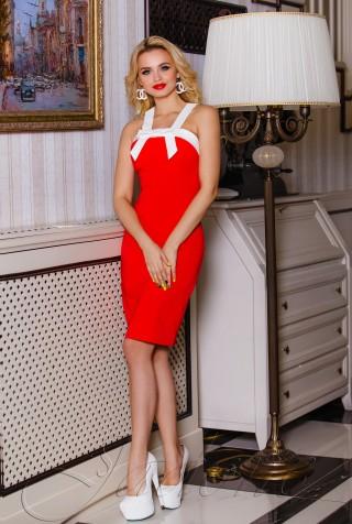 Платье Нори красный