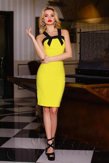 Платье Nori yellow