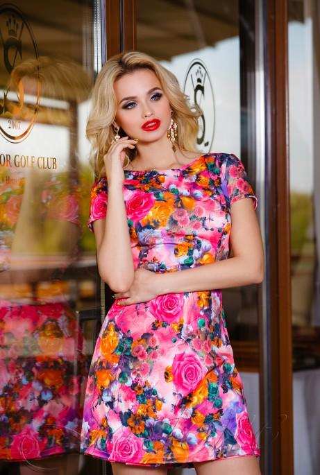 Комбинезон-платье Summer розовый