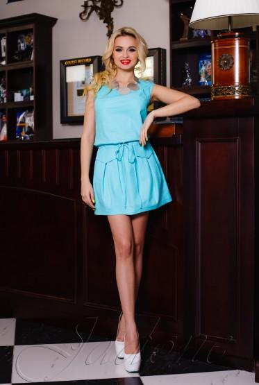 Платье Alben turquoise