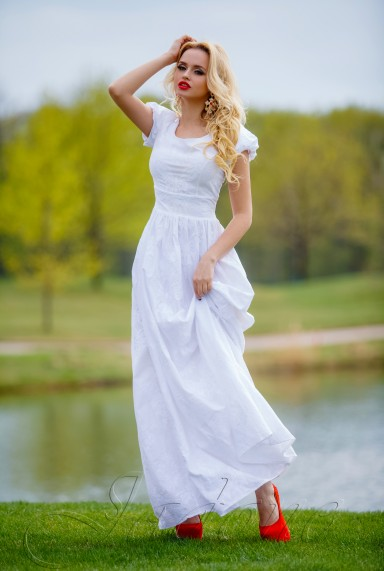Платье Полетти белый