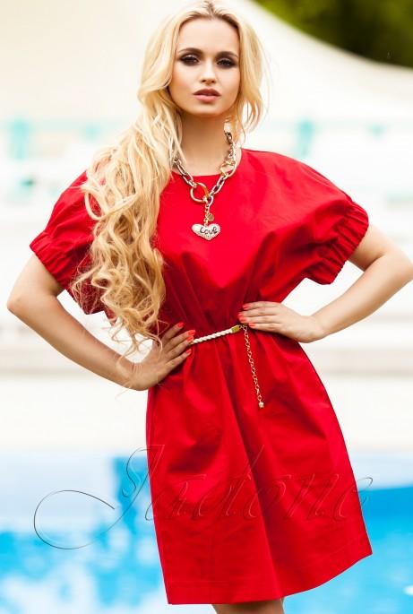 Платье Лючи красный
